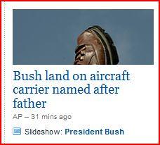 Yahoo News snip Jan 10 2009