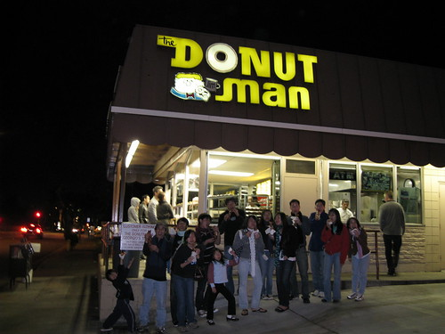 Everyone at Donut Man