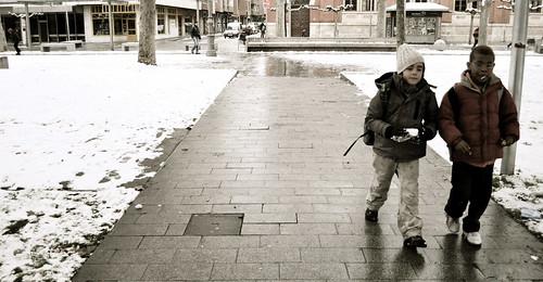Paz tras la guerra de bolas de nieve