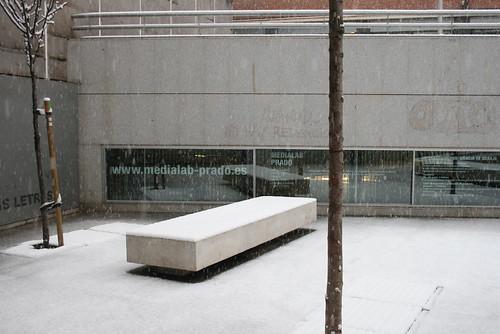 Nieve en Medialab (09.01.09)