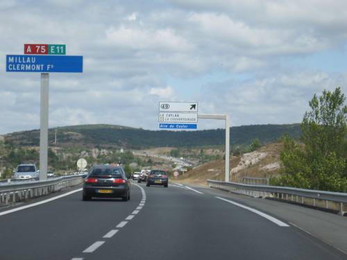 Theres More Climbing Ahead Though As The A75 Is Highest Motorway Of France Image Hosted On Flickr