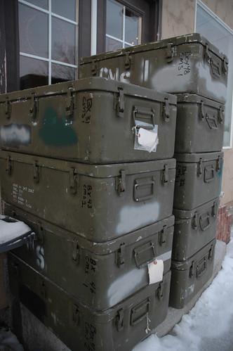 Ut Waterproof Aluminum Storage Box Military Surplus