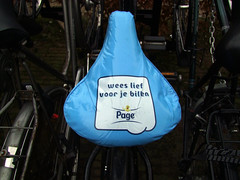 Take care of your bottom... (by_irma) Tags: blue bicycle nijmegen blauw meetup bottom nederland toiletpaper fiets billen zadel nijmegenflickraficionados toiletpapier limoskazerne nieuwjaarsbijeenkomst zadeldekje flickrmeetnijmegennewyear2009