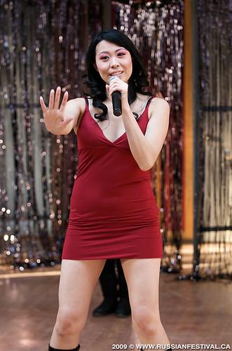Catalina Yue Performs at Splash '09