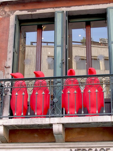4 Red Penguins