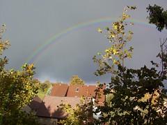 rainbow (crossdouble) Tags: sky storm dark wolken sturm wittgensdorf