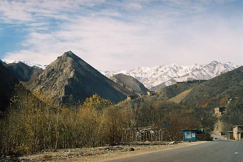 Una montaña en Afganistan
