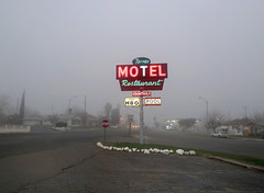 Taft, California (Dizzy Atmosphere) Tags: california motel oil taft petroleum kerncounty route33 lakeviewgusher