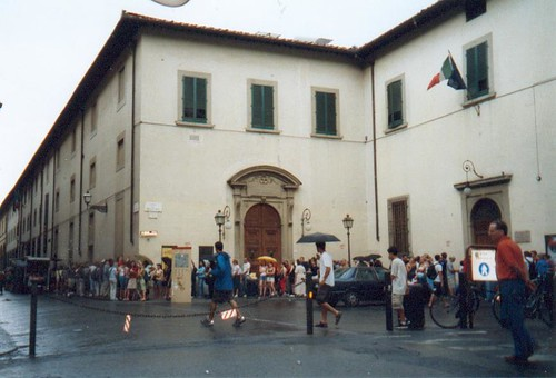 Wachtrij voor Uffizi