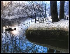~ Misty Blue ~ (ViaMoi) Tags: blue winter light canada reflection water misty fog canon photography mirror jan ottawa foggy canadian inspiredbylove mywinners abigfave platinumphoto theunforgettablepictures viamoi goldstaraward photographybyviamoi 100commentgroup