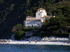 (raffaphoto) Tags: sea italy seascape mare chiesa marche portonovo
