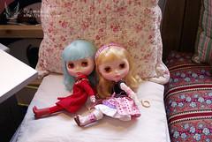 [ Blythe ] Anne with Misty (kiomeru) Tags: doll rice sally blythe miss takara