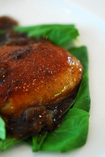Foie gras de canard poele au vinaigre de Xeres - DSC_3699