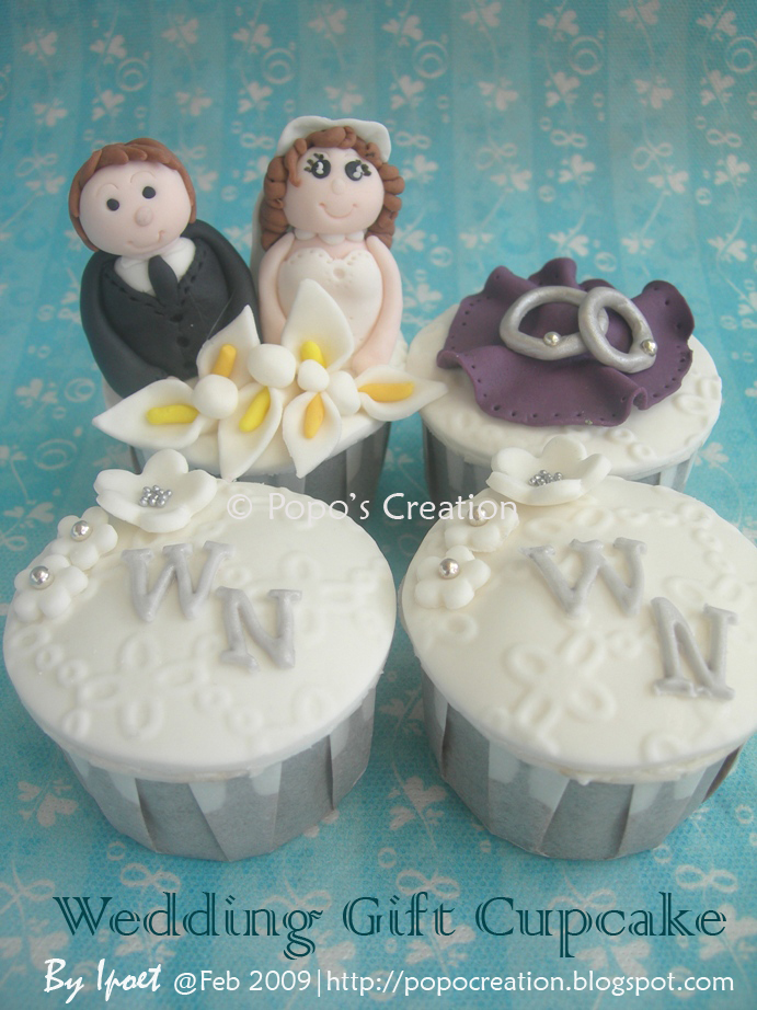 Wedding Gift Cupcake for Nancy