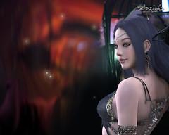 dark goddess wallpaper