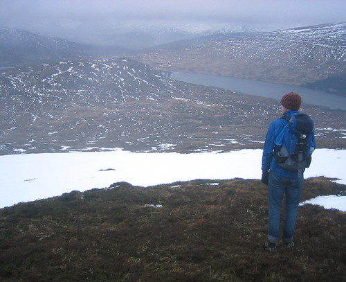 View down to Loch Ossian (5361)