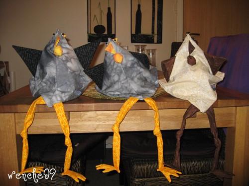 3 vinhøner