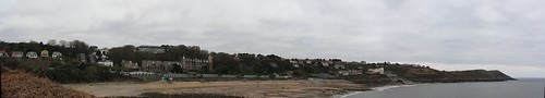 A Panorama of Langland Bay