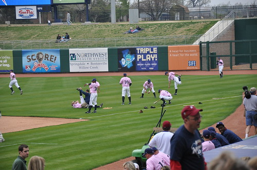 NWA Naturals vs San Antonio Missions - Arvest Ballpark - Springdale, AR - 4/17/09