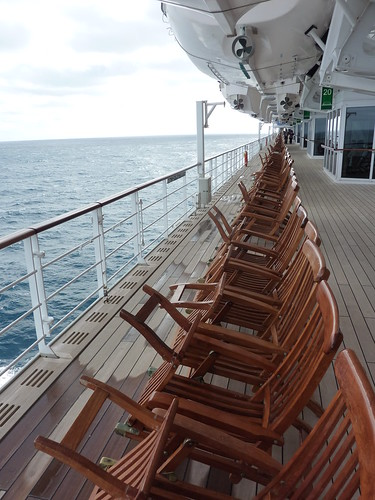 Cunard Queen Mary 2 QM2 decks