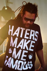 Haters Make me Famous (badjonni) Tags: park music festival rock live famous tshirt adelaide groove blogged hiphop aussie 3000 griff haters