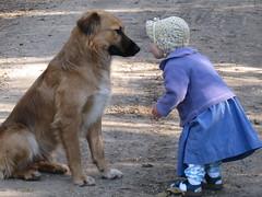 Gimme a Smooch, huh? (eiluner789) Tags: family friends love dogs animals kids children kiss trust opposites smooch opposti abigfave flickrdiamond citrit naturescreation goldenheartaward bestofdamn goldenfivestarwinner