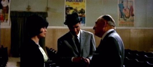 Brigitte Bardot, Michel Piccoli y Fritz Lang en 'El desprecio'