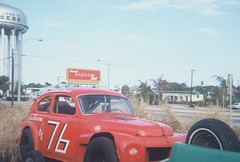 PV544 race cars (blue65pv544) Tags: car race vintage volvo track florida stock short fl 1968 cocoa titusville pv 544 pv544