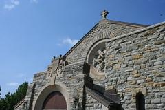 The Fort Snelling Chapel (lars hammar) Tags: door history church window minnesota stone army fort military masonry stpaul chapel historic entryway fortsnelling minnesotahistoricalsociety