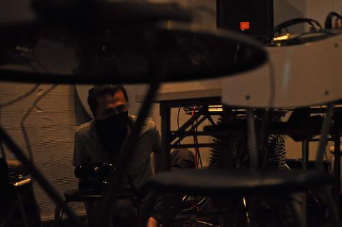 Blackphone 666 as ENG at Deep Listening Chair Festival 2009