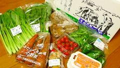 有機野菜をお取り寄せ