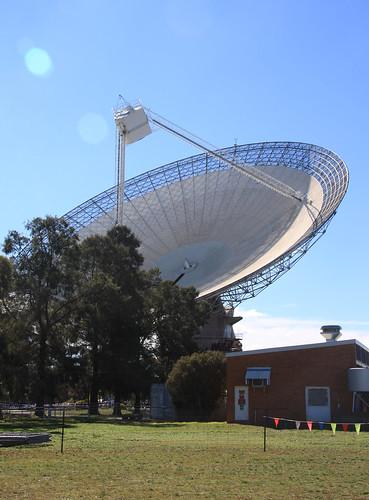 Parkes Radio Telescope.