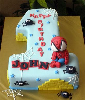 Baby Spidey no.1 Cake