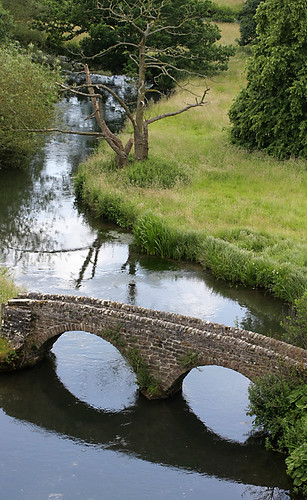 Bridge below Haddon Hall