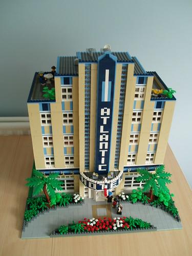 Brick Town Talk: Atlantic Hotel - LEGO Town, Architecture, Building ...