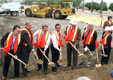 Orange Line groundbreaking