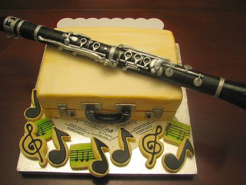 Clarinet Cake