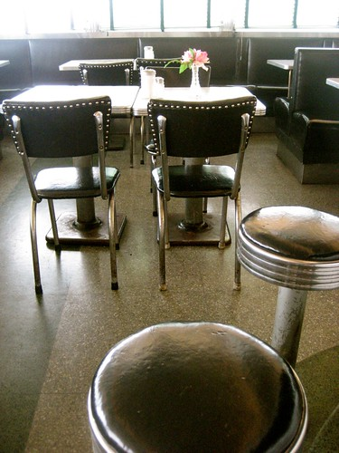 Shawmut Diner Interior