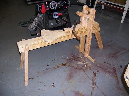 My 15 00 Shaving Horse Mvflaim Furnituremaker
