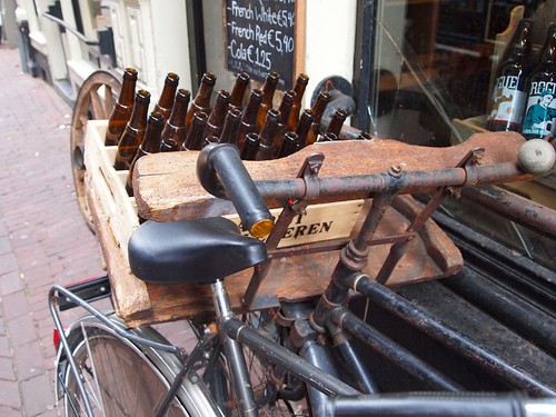 Amsterdam: beer delivery bike