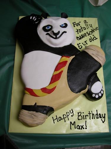 Kund Fu Panda Cake