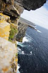 AranIslands_37 (greeblehaus) Tags: ocean ireland sea cliff water island islands coast cliffs fave edge ledge aran aranislands inishmore inismr ireland2009