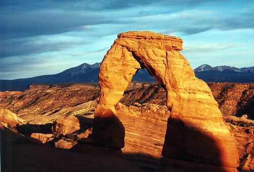 Sunset at Delicate Arch - Arches National Park