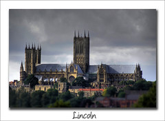 Lincoln Cathedral (Paul Simpson Photography) Tags: uk england tower church flickr religion large shift churchtower lincolnshire lincoln tilt bishop hdr flicker stonebuilding tiltshift lincolncathedral photosof imageof photoof july2008 imagesof photoson paulsimpsonphotography
