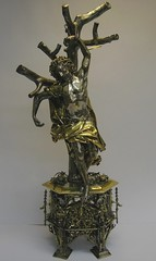a. Reliquary of St Sebastian before conservation, M.27-2001. Photograph by Gates Sofer.