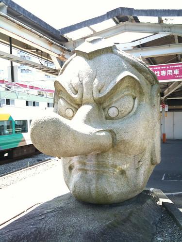 高尾駅の天狗