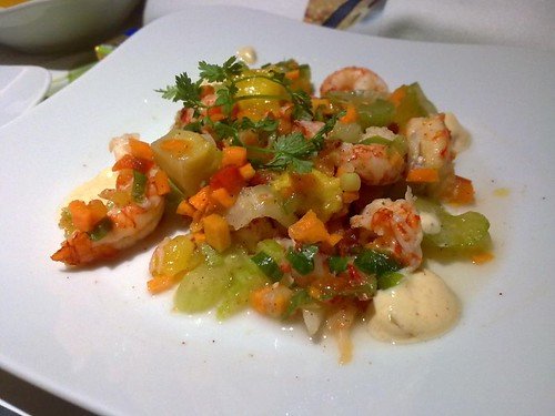 Crawfish Salad with Creole Remoulade
