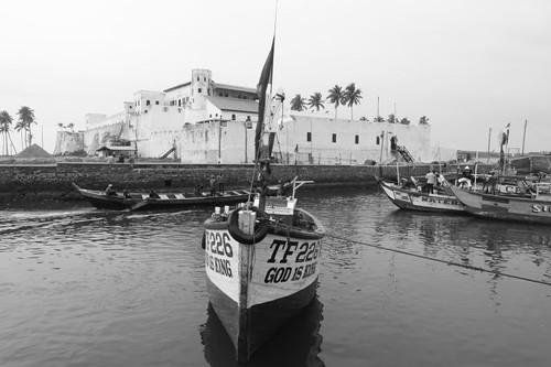 St. George's Castle, Elmina, Ghana.