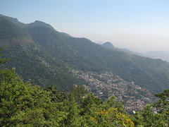 Rio Panorama on the way up the Corcovado Mountain (benyeuda) Tags: city trees houses brazil southamerica rio riodejaneiro forest buildings rainforest favela tijuca tropicalrainforest nationapark dejaneiro tijucanationalpark parknacionaltijuca