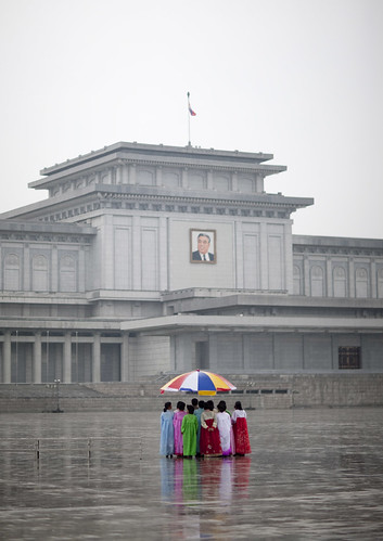 Kim Il Sung Kumsusan memorial Pyongyang North Korea